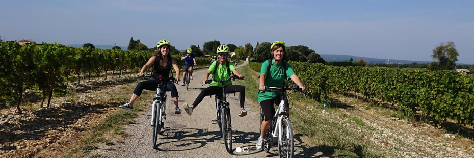 Balade à vélo en Ardèche du sud